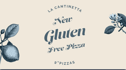 NEW Gluten Free Pizza 9""